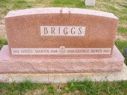 Lotus <I>Martin</I> Briggs