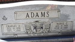 Mamie C <I>Phillips</I> Adams