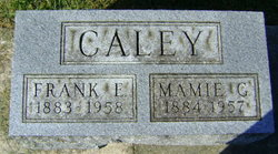 Mamie G. <I>Gamble</I> Caley