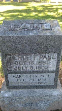 Mary Etta Paul