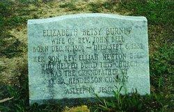 "Elizabeth ""Betsy"" <I>Burnup</I> Bell"