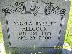Angela <I>Barrett</I> Allcock