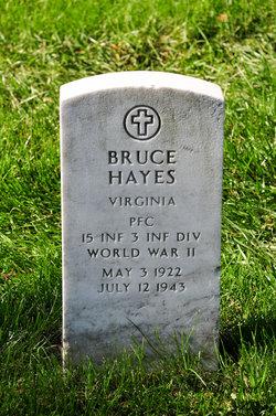 PFC Bruce Hayes