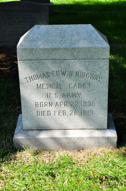 Cadet Thomas Edwin Ridgway
