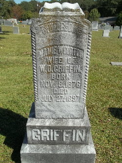 """Mary """"Mamie"""" <I>Whorton</I> Griffin"""