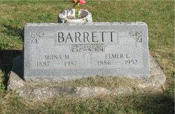 Mona M <I>Armstrong</I> Barrett