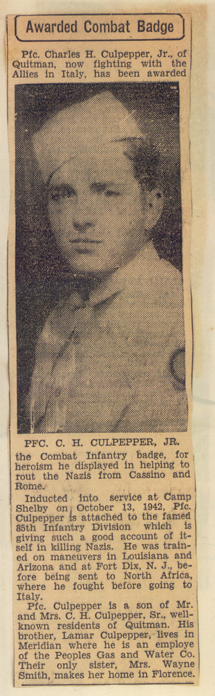 Charles Harvey Culpepper, Jr