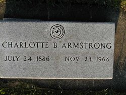 Charlotte Bell <I>Healton</I> Armstrong