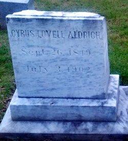 Cyrus Lovell Aldrich