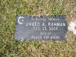 Ahemed A. Rahman
