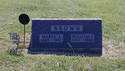 Mabel Ann <I>White</I> Brown