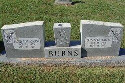 Elizabeth Pearl <I>Waters</I> Burns