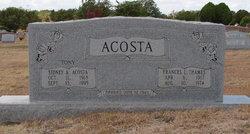 Frances Louisa <I>Thames</I> Acosta