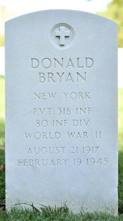 Pvt Donald Bryan
