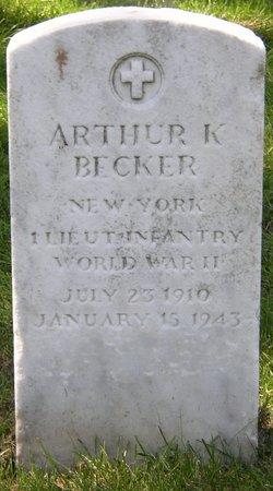 1LT Arthur K Becker