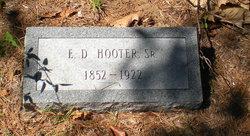Edward Doty Hooter, Sr
