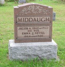 Emma J. <I>Neville</I> Middaugh