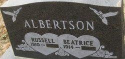 "Beatrice Elfrieda ""Bumble Bee"" <I>Monson</I> Albertson"
