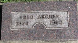 """Alfred Frederick """"Fred"""" Archer"""