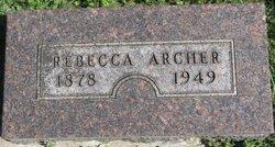 Rebecca Ann <I>Baker</I> Archer