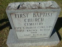 First Baptist Church Cemetery