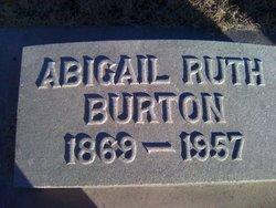 """Abigail Ruth """"Abbie"""" Burton"""