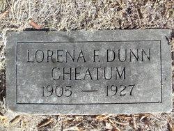 Lorena Fay <I>Dunn</I> Cheatum