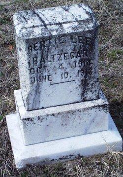Bertie Lee Baltzegar