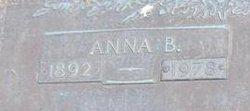 Anna B <I>Clayton</I> Babcock