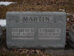 "Elizabeth M ""Lizzie"" <I>Bascom</I> Martin"