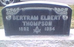 Bertram Elbert Thompson