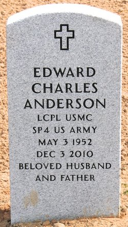 Corp Edward Charles Anderson