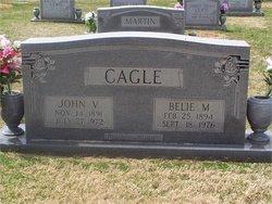 Belie G. <I>Massengill</I> Cagle