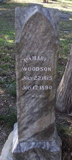 Mary Laurence <I>Cook</I> Woodson