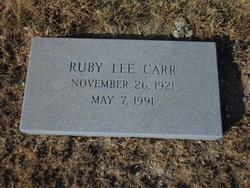 Ruby Lee Carr
