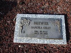 Sandra <I>Gray</I> Brewer