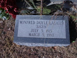 "Winfred Doyle ""BIGUN"" Lasater"