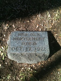 Mrs Ola <I>Slaughter</I> Montgomery