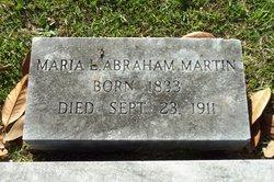 Maria <I>Abraham</I> Martin