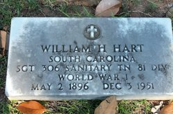 William H Hart