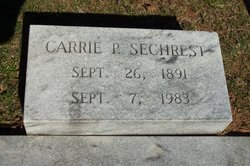 Carrie P Sechrest