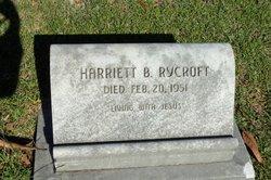 Harriett B Rycroft