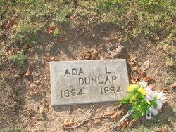 Ada Lanora <I>Dyer</I> Dunlap