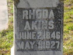 Rhoda <I>Parrish</I> Akins