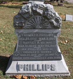 Harriett Rebecca <I>Allfree</I> Phillips