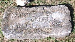 """Margaret """"Maggie"""" <I>Hansel</I> Anderson"""