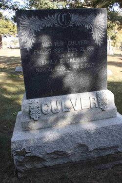 Emily E. <I>Calkins</I> Culver
