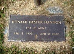Donald Easter Hannon