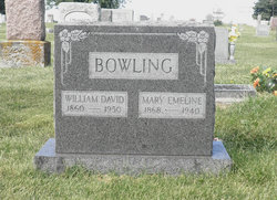Mary Emeline <I>Rumley</I> Bowling