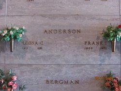 Leona C. <I>Bergman</I> Anderson